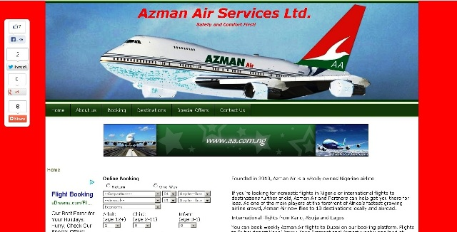 Azman Air Services Ltd.