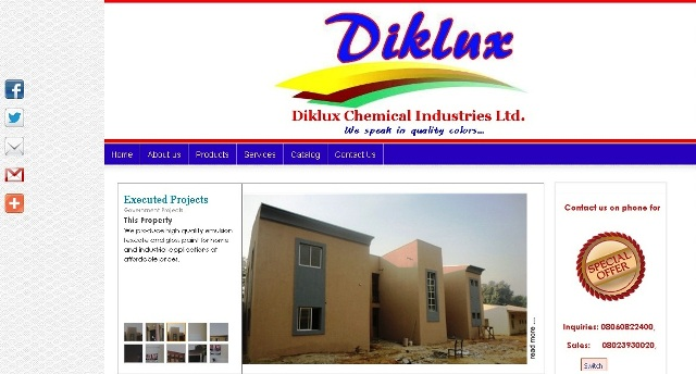 DIKLUX Chemical Industries Ltd.
